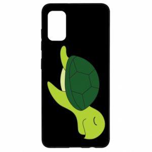 Etui na Samsung A41 Sleeping turtle