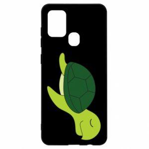 Etui na Samsung A21s Sleeping turtle
