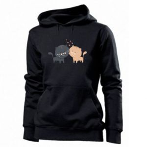 Women's hoodies Cute cats