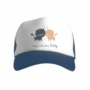 Kid's Trucker Hat Cute cats