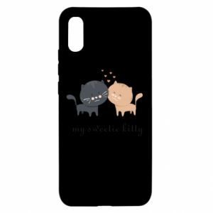 Xiaomi Redmi 9a Case Cute cats