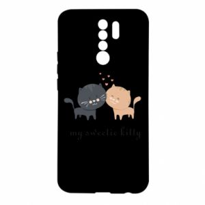 Xiaomi Redmi 9 Case Cute cats