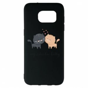 Samsung S7 EDGE Case Cute cats