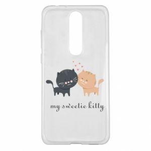 Nokia 5.1 Plus Case Cute cats