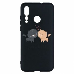Huawei Nova 4 Case Cute cats