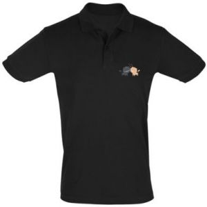 Men's Polo shirt Cute cats