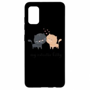 Samsung A41 Case Cute cats