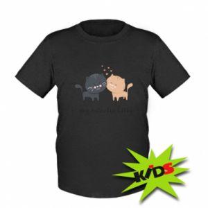 Dziecięcy T-shirt Śliczne koty - PrintSalon