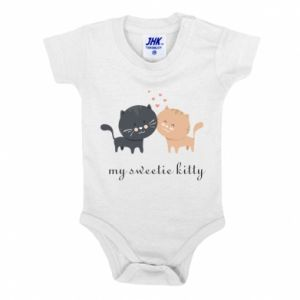 Baby bodysuit Cute cats