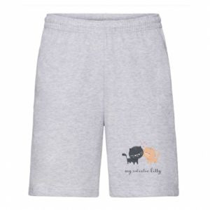 Men's shorts Cute cats