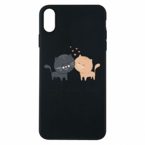 Phone case for iPhone Xs Max Cute cats