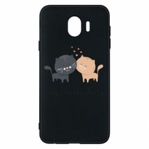 Samsung J4 Case Cute cats