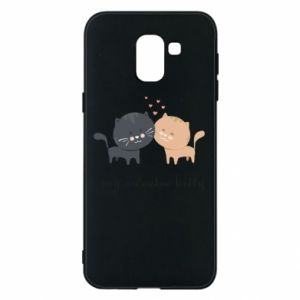 Samsung J6 Case Cute cats