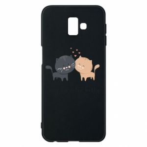 Samsung J6 Plus 2018 Case Cute cats