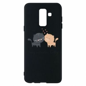 Samsung A6+ 2018 Case Cute cats