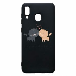 Samsung A20 Case Cute cats