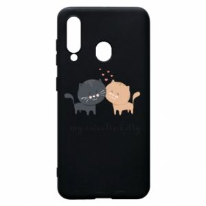 Samsung A60 Case Cute cats