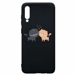 Samsung A70 Case Cute cats