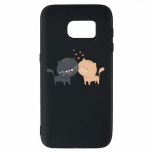 Samsung S7 Case Cute cats