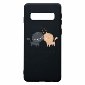 Samsung S10 Case Cute cats