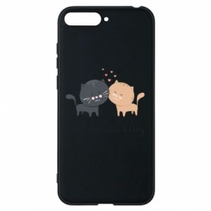 Huawei Y6 2018 Case Cute cats