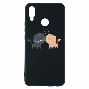 Huawei P Smart Plus Case Cute cats