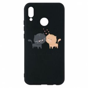 Huawei P20 Lite Case Cute cats