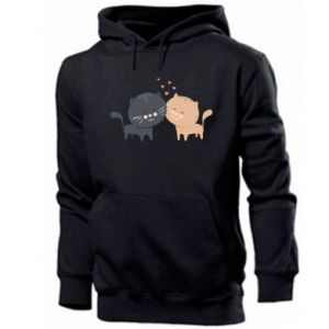 Men's hoodie Cute cats