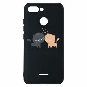 Xiaomi Redmi 6 Case Cute cats