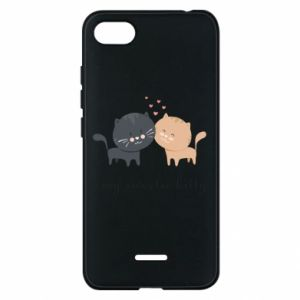 Phone case for Xiaomi Redmi 6A Cute cats