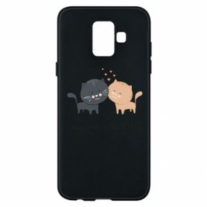 Samsung A6 2018 Case Cute cats
