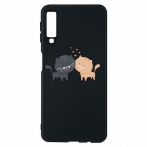 Samsung A7 2018 Case Cute cats