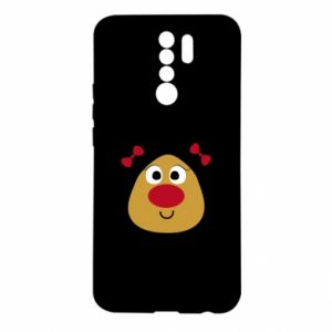 Etui na Xiaomi Redmi 9 Śliczny jeleń