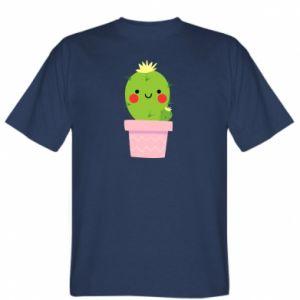 Koszulka Śliczny uśmiechnięty kaktus