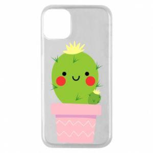 Etui na iPhone 11 Pro Śliczny uśmiechnięty kaktus