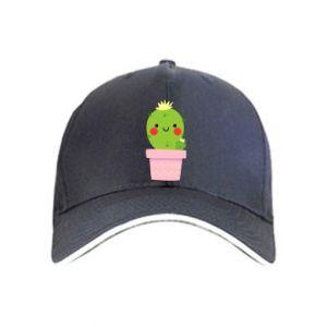 Czapka Śliczny uśmiechnięty kaktus