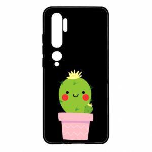 Etui na Xiaomi Mi Note 10 Śliczny uśmiechnięty kaktus
