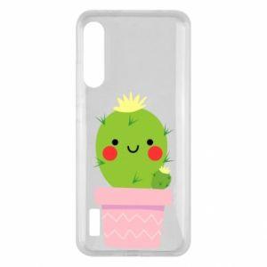 Etui na Xiaomi Mi A3 Śliczny uśmiechnięty kaktus