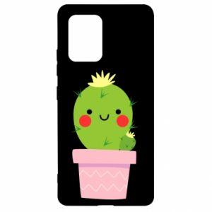 Etui na Samsung S10 Lite Śliczny uśmiechnięty kaktus