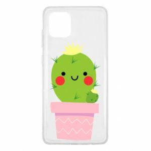 Etui na Samsung Note 10 Lite Śliczny uśmiechnięty kaktus