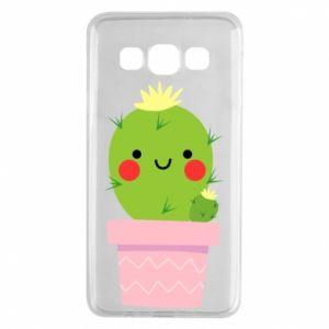 Etui na Samsung A3 2015 Śliczny uśmiechnięty kaktus