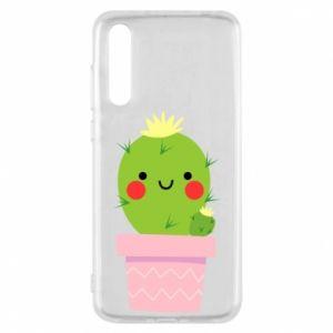 Etui na Huawei P20 Pro Śliczny uśmiechnięty kaktus