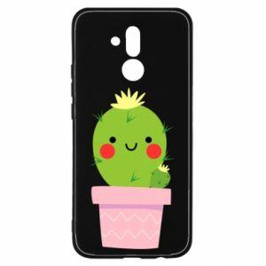 Etui na Huawei Mate 20 Lite Śliczny uśmiechnięty kaktus