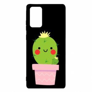 Etui na Samsung Note 20 Śliczny uśmiechnięty kaktus