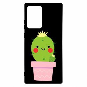 Etui na Samsung Note 20 Ultra Śliczny uśmiechnięty kaktus