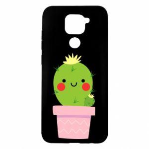 Etui na Xiaomi Redmi Note 9/Redmi 10X Śliczny uśmiechnięty kaktus