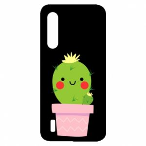 Etui na Xiaomi Mi9 Lite Śliczny uśmiechnięty kaktus