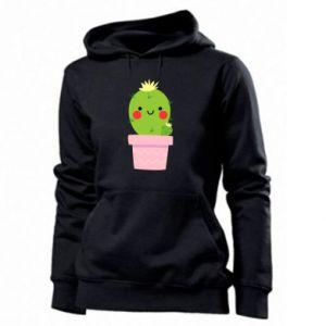 Bluza damska Śliczny uśmiechnięty kaktus