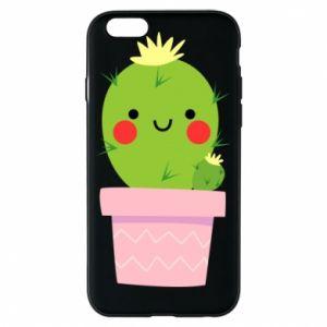 Etui na iPhone 6/6S Śliczny uśmiechnięty kaktus