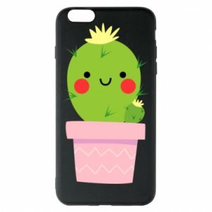 Etui na iPhone 6 Plus/6S Plus Śliczny uśmiechnięty kaktus